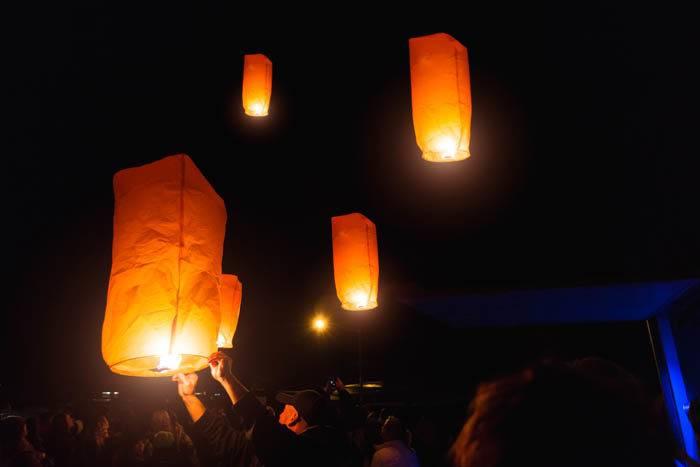 Lanterns, Fire and Ice Winterfest, Lava Hot Springs. Photo Credit: Idaho Tourism