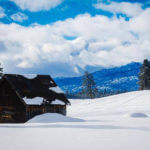 Exploring McCall in the winter.  Photo Credit: Idaho Tourism