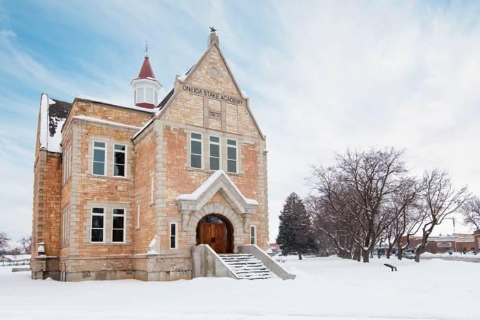 Oneida Stake Academy, Preston. Photo Credit: Idaho Tourism
