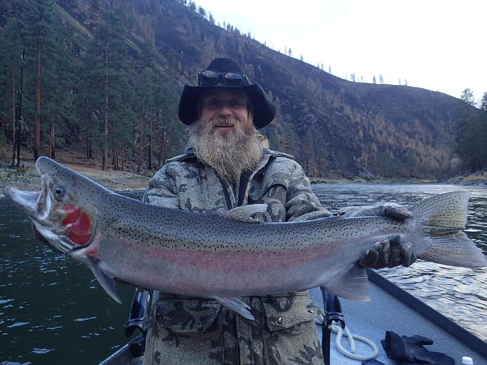 Catch A Monster Steelhead On The Snake Salmon And