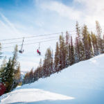 Snowboarding, Lookout Pass Ski and Recreation Area, Wallace. Photo Credit: Idaho Tourism
