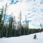 Skiing, Lookout Pass Ski Recreation Area, Wallace. Photo Credit: Idaho Tourism