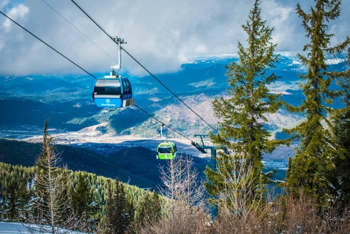 Skiing, Silver Mountain Resort, Kellogg