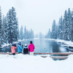 Snowmobiling, Big Springs, Island Park. Photo Credit: Idaho Tourism.