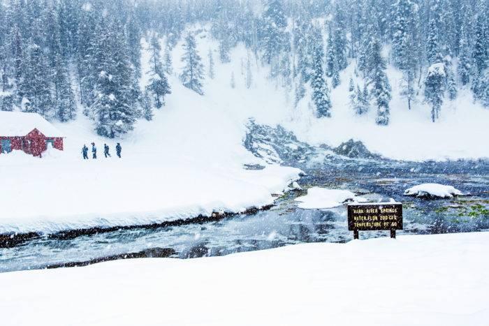 Snowmobiling, Big Springs, Island Park. Photo Credit: Idaho Tourism
