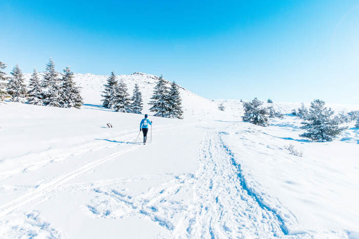 Snowshoeing, Craters Of The Moon. Photo Credit: Idaho Tourism