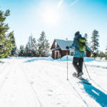 Snowshoeing, Harriman State Park. Photo Credit: Idaho Tourism.