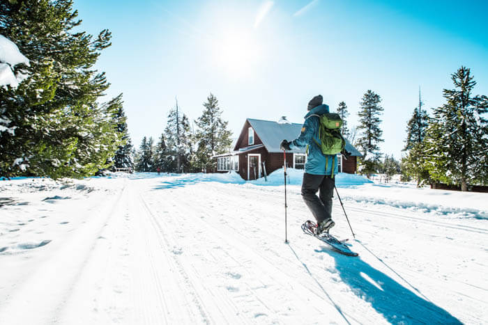 Snowshoeing, Harriman State Park