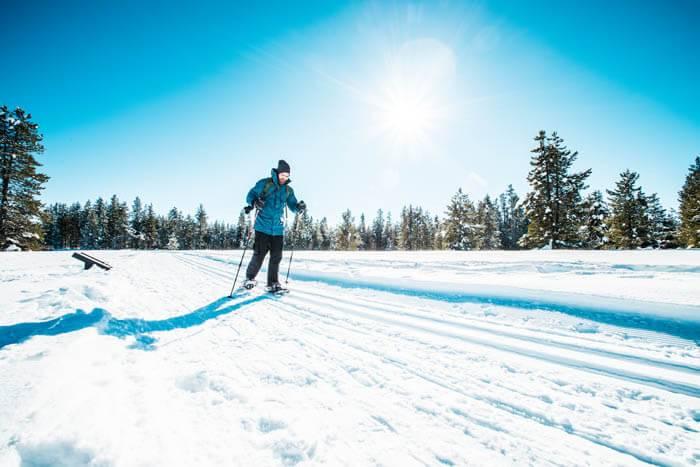 Snowshoeing, Harriman State Park. Photo Credit: Idaho Tourism