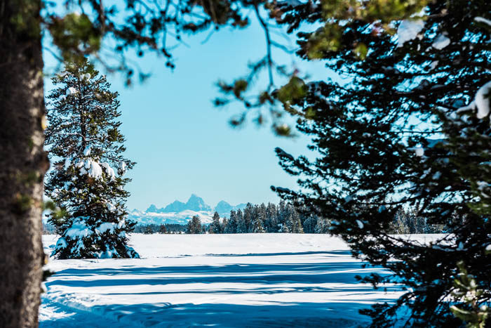 Tetons, Victor. Photo Credit: Idaho Tourism