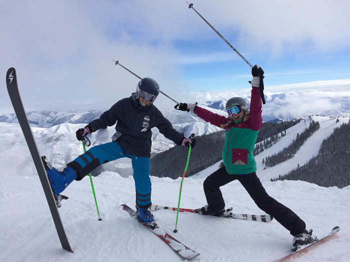 Skiing, Sun Valley. #ForTheWinter Submission: Nikki Reynolds