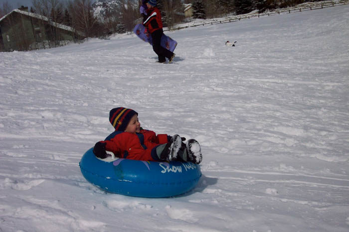 Tubing, Sun Valley. #ForTheWinter Submission: Nikki Reynolds