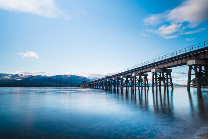 Train Bridge, Sandpoint. Photo Credit: Idaho Tourism