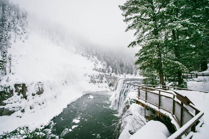Upper Mesa Falls, Ashton. Photo Credit: Idaho Tourism