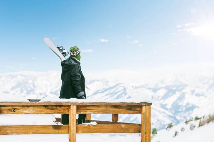 Snowboarding in Southwest Idaho. Photo Credit: Idaho Tourism