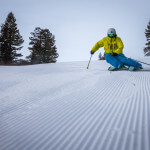 Ski lessons at Bogus Basin Mountain Recreation Area.