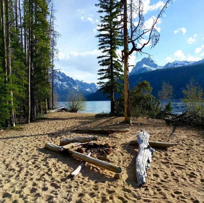 Redfish Lake, Idaho. #VisitIdaho Share: @offlineoutdoors