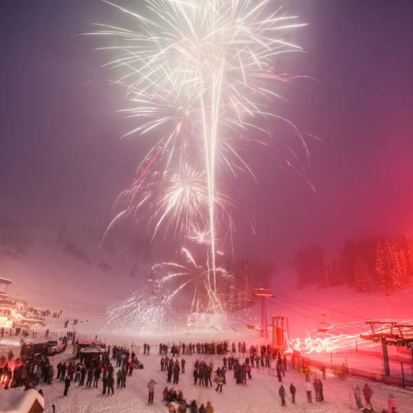 Celebrating The New Year in Idaho