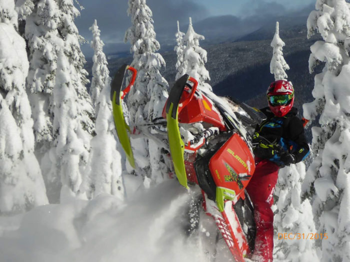 Snowmobiling, Silver Valley. Photo Credit: Vicki Isakson