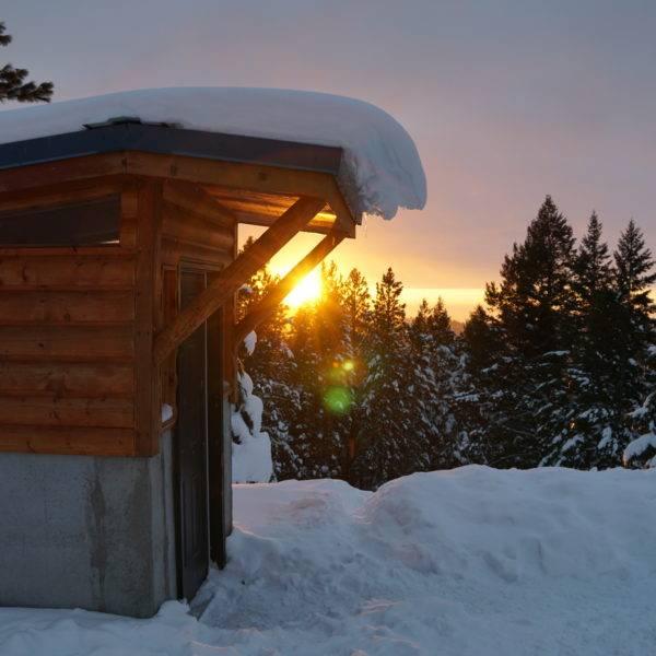 Experience a Winter Getaway to Bogus Basin Yurt