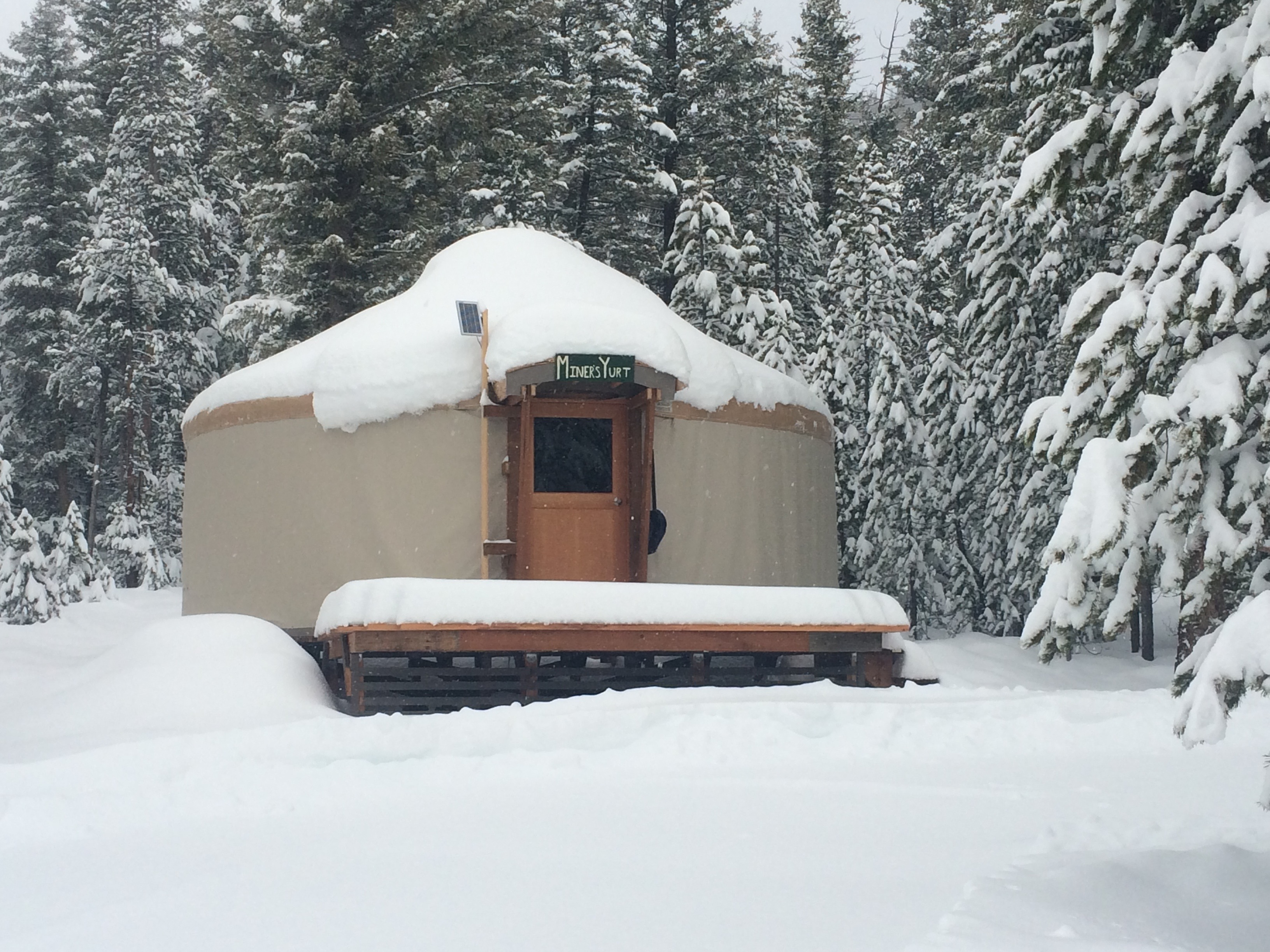 Winter Getaway to Bogus Basin Alpine Yurt Visit Idaho