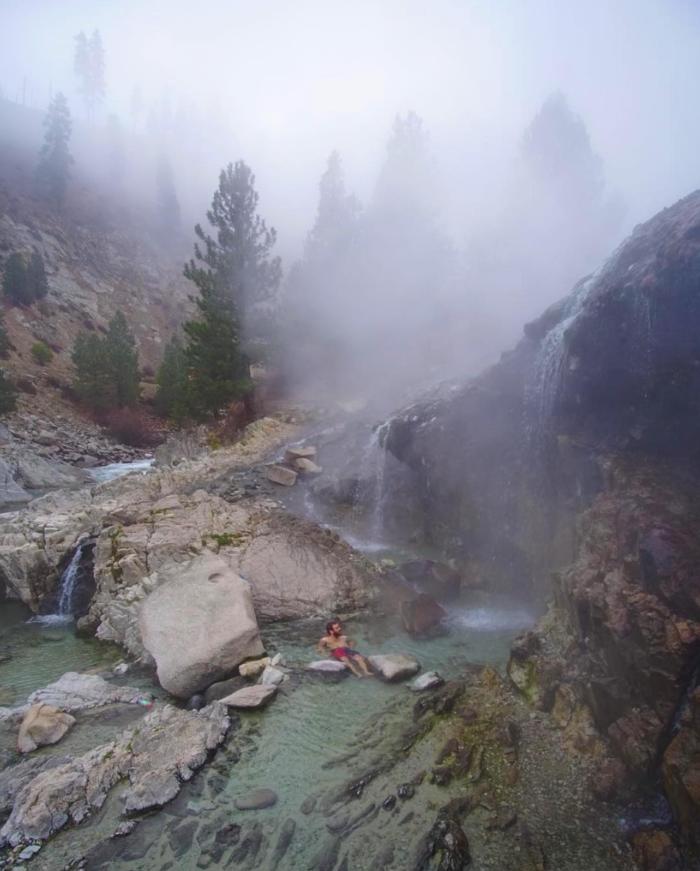 Kirkham Hot Springs, Idaho. #VisitIdaho Share: @zaplipzach