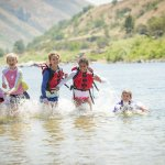 Family Whitewater Rafting Experience, Lower Salmon Canyon, Near Lewiston. Photo Credit: Idaho Tourism