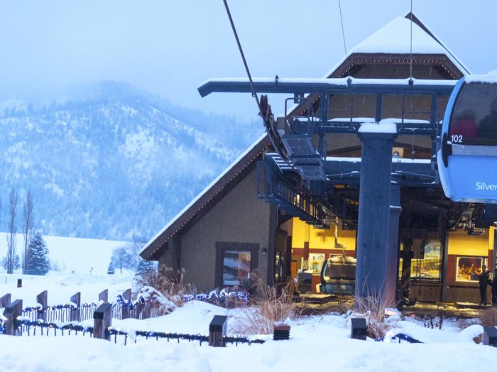 Catch a ride at Silver Mountain Resort.