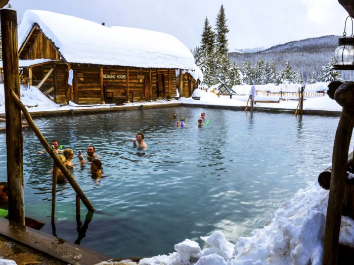 Take a dip and relax a while at Burgdorf Hot Springs.