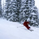 Pick your perfect line at Brundage Mountain Resort.
