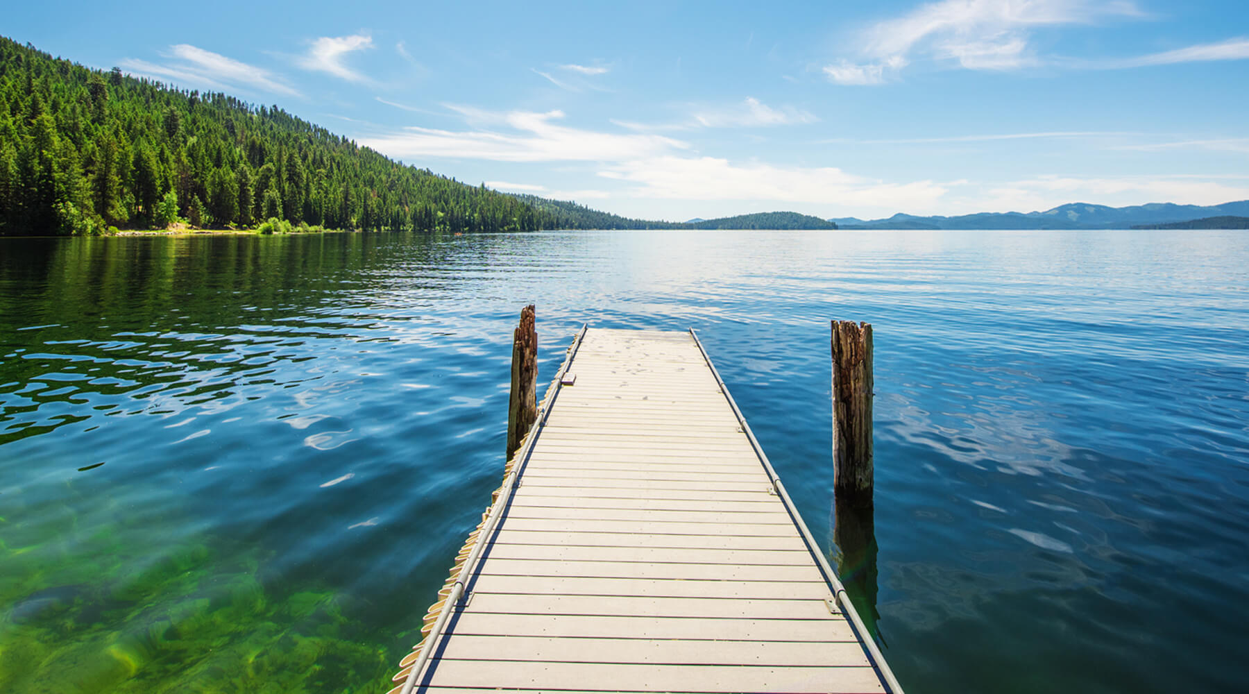 Priest Lake State Park, near Coolin. Photo Credit: Idaho Tourism.