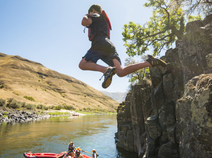 Whitewater Rafting, Lower Salmon Canyon, Near Lewiston. Photo Credit: Idaho Tourism