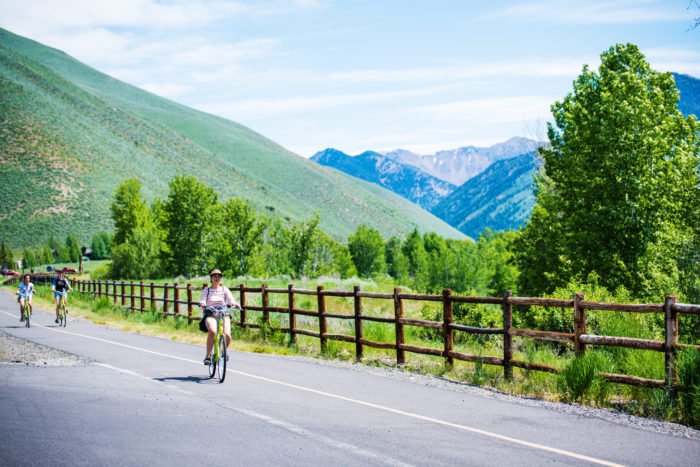 Biking, Wood River Trail System, Near Sun Valley. Photo Credit: Idaho Tourism