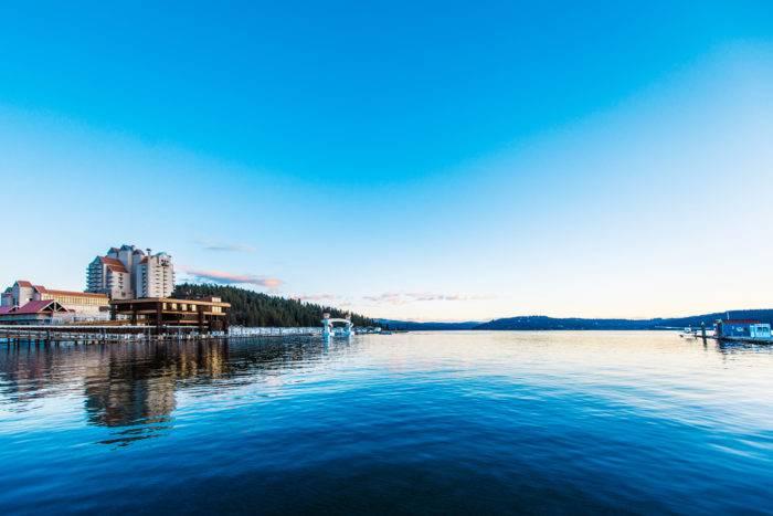 Coeur d'Alene Resort, Coeur d'Alene. Photo Credit: Idaho Tourism
