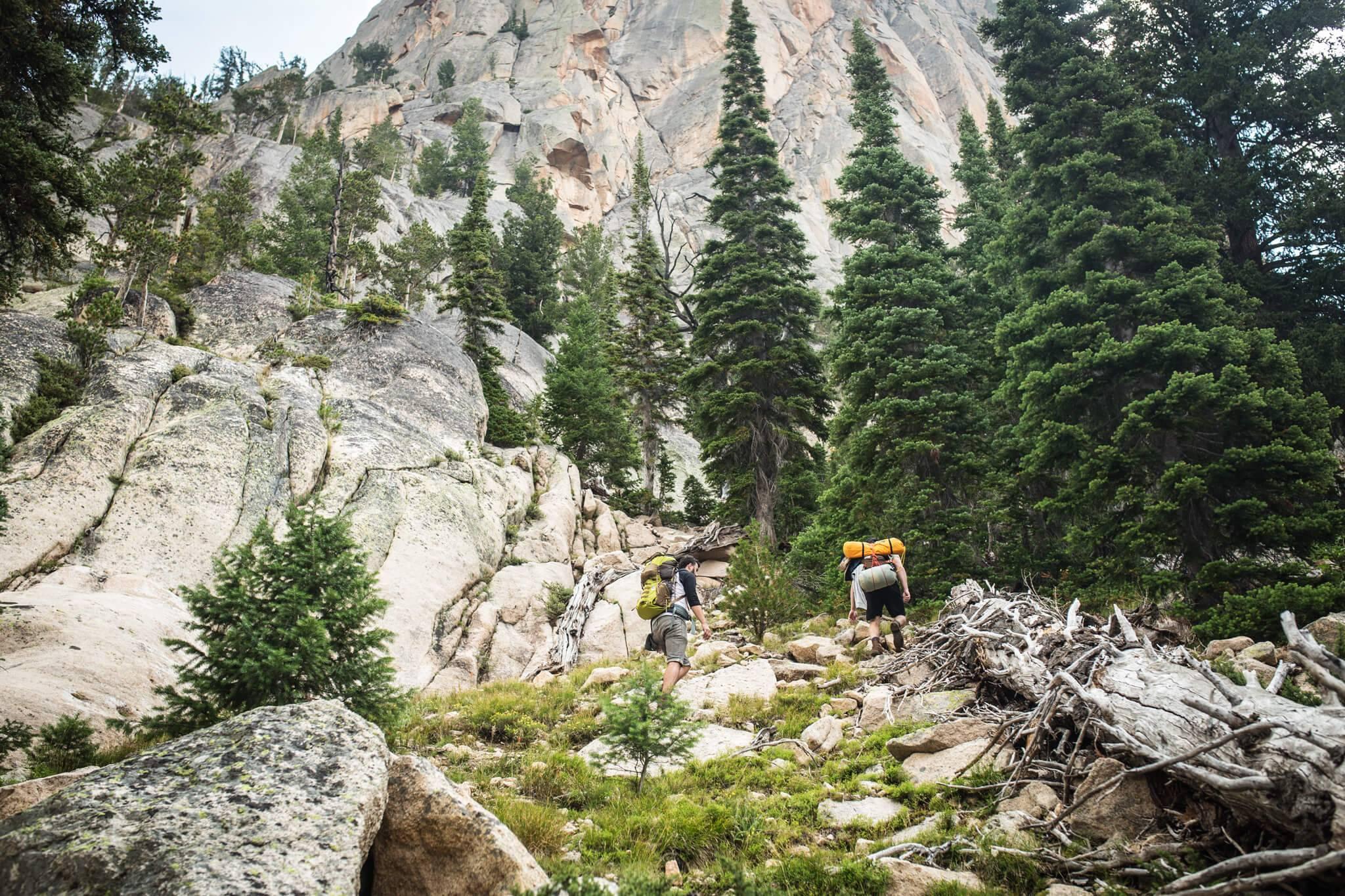 Hiking, Elephant's Perch, Near Stanley. Photo Credit: Idaho Tourism