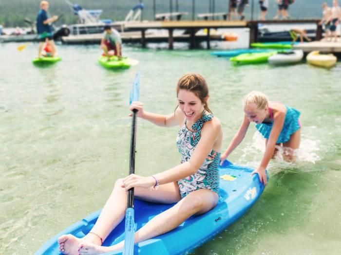 Kayaking, Redfish Lake, Stanley. Photo Credit: Idaho Tourism