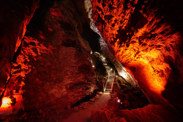 Minnetonka Cave, St. Charles. Photo Credit: Idaho Tourism