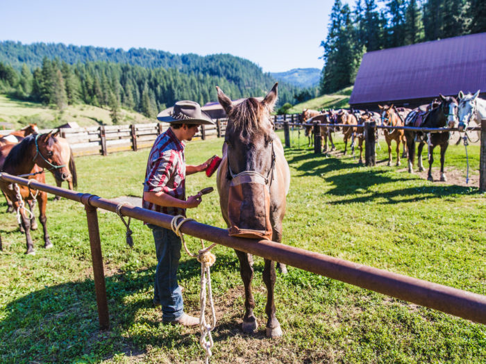 Red Horse Mountain Ranch, Harrison. Photo Credit: Idaho Tourism