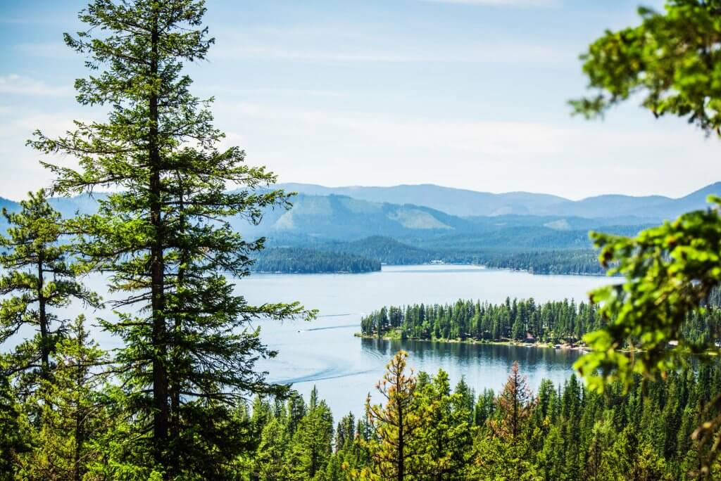 Scenic Overlook, Priest Lake State Park. Photo Credit: Idaho Tourism