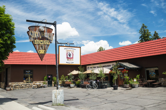 Sun Valley Brewing Company, Hailey. Photo Credit: Idaho Tourism