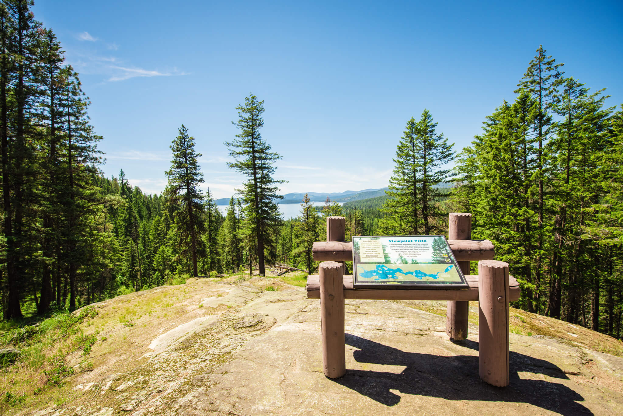 Viewpoint Vista, Priest Lake State Park, Coolin. Photo Credit: Idaho Tourism