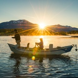 Fishing on the South Fork of the Snake River