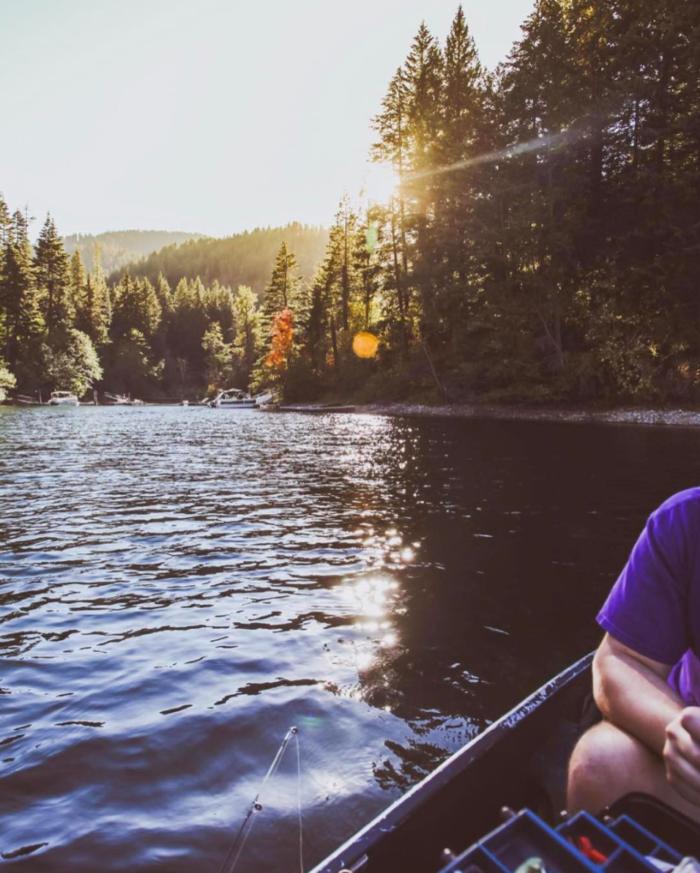 Hayden Lake, Idaho. #VisitIdaho Share: @aaronbenjamin_