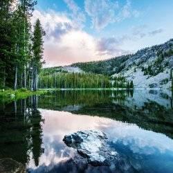 Wallace Lake, Near Salmon. Photo Credit: Idaho Tourism.