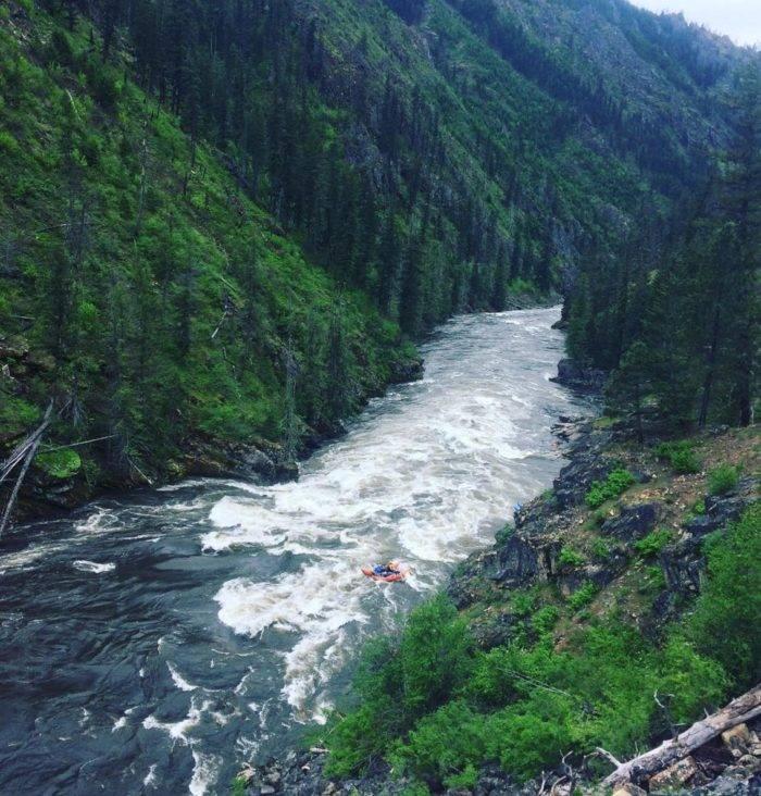 Selway River, Idaho. #VisitIdaho Share: @rivertrekker