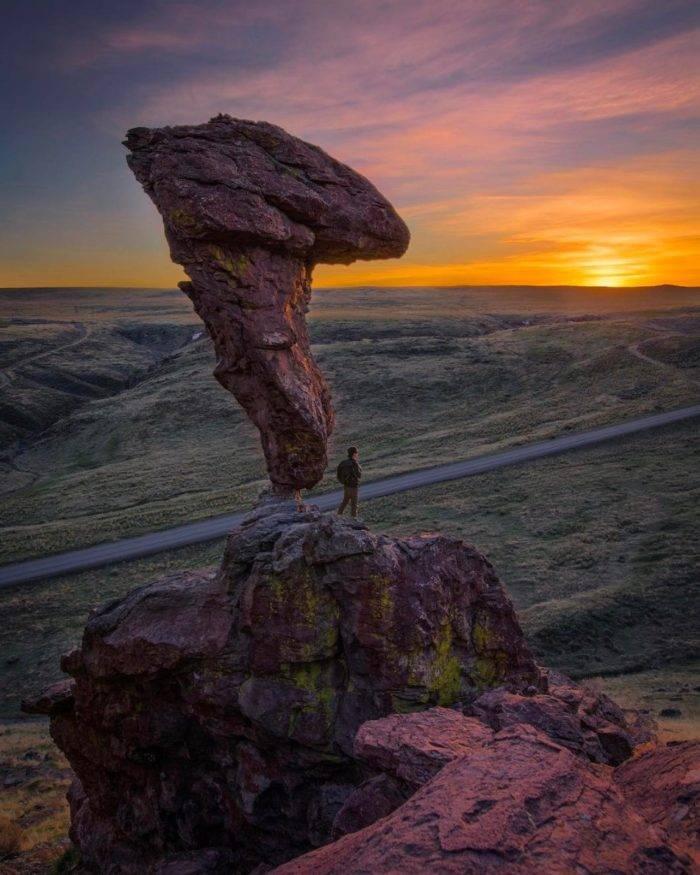 Balanced Rock, Idaho. #VisitIdaho Share: @austinjackson29