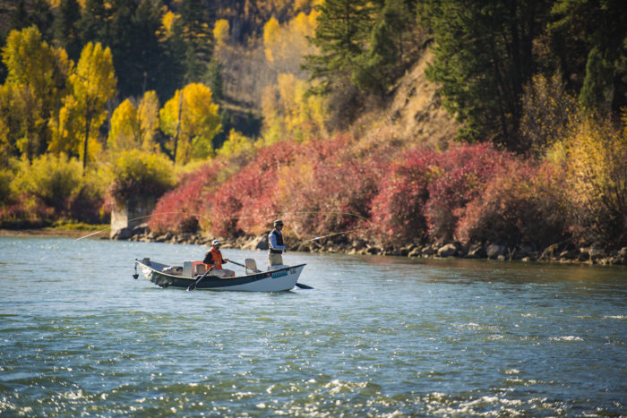 world class fishing on the south fork of the snake river
