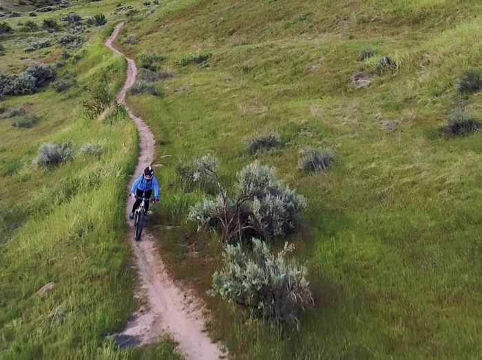 Biking, Ridge to Rivers Trail System, Boise. Photo Credit: Idaho Tourism.