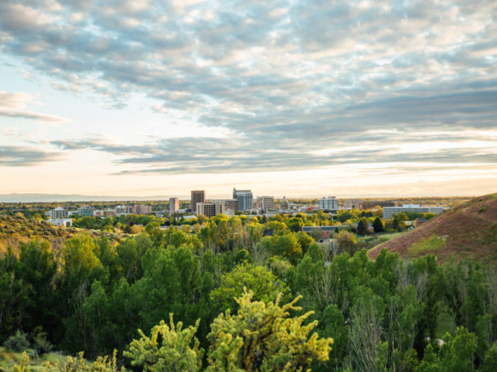 Military Reserve, Ridge to Rivers Trail System, Boise. Photo Credit: Idaho Tourism.