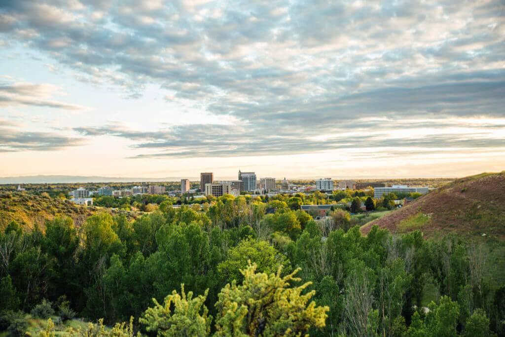 Military Reserve, Ridge to Rivers Trail System, Boise. Photo Credit: Idaho Tourism.